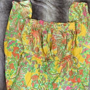 Lilly Pulitzer size 14/16 jumpsuit